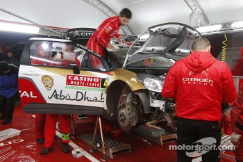 Citroën team area