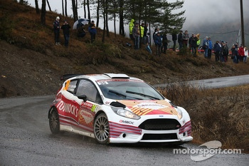 Robert Barrable and Stuart Loudon, Ford Fiesta R5