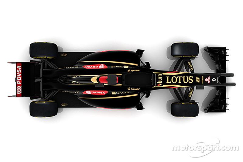 Lotus F1 E22 von 2014