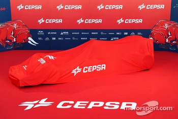 The Toro Rosso STR9 under wraps