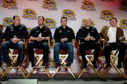 Ryan Newman, Paul Menard, Austin Dillon and Richard Childress
