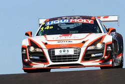 #14 Rotek Racing Audi R8 LMS: Oliver Gavin, Rob Huff, Richard Meins, Kevin Gleason