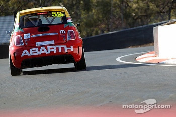 #59 Fiat Abarth Motorsport Fiat Abarth 500: Matt Cherry, Matt Campbell, Luke Ellery