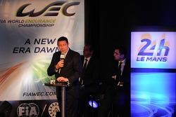 WEC CEO Gerard Neveu