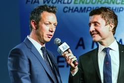 Marc Goossens with Bruno Vandestick
