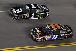 Jamie McMurray and Denny Hamlin