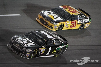 Jamie McMurray and Ryan Newman