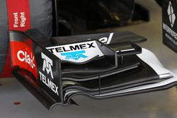 Sauber C33 front wing detail