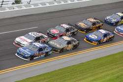 Race Action; Elliott Sadler; Brad Keselowski; Kyle Larson; James Buescher