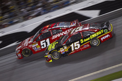 Justin Allgaier and Clint Bowyer