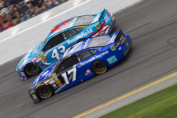Ricky Stenhouse Jr. and Aric Almirola