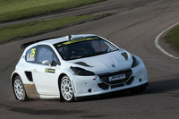 Jacques Villeneuve tests rallycross car