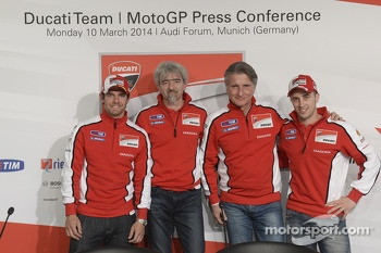 Ducati press conference, Andrea Dovizioso and Cal Crutchlow