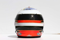 The helmet of Adrian Sutil, Sauber