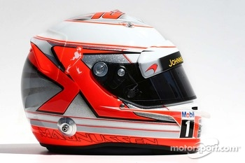 The helmet of Kevin Magnussen, McLaren