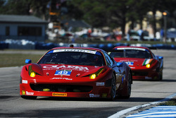 #49 Spirit of Race Ferrari 458 Italia: Gianluca Roda, Paolo Ruberti, Mirko Venturi
