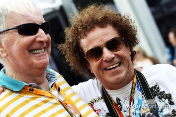 (L to R): John Watson, with Leo Sayer