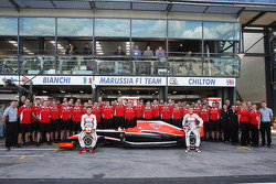 (L to R): Jules Bianchi (FRA)