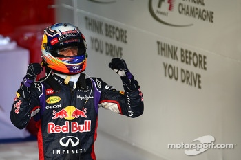 2nd place Daniel Ricciardo, Red Bull Racing