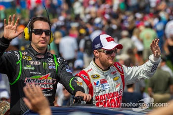 Kyle Busch and Dale Earnhardt Jr.