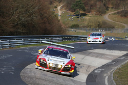 Marc Basseng, Laurens Vanthoor, Frank Stippler, Phoenix Racing, Audi R8 LMS ultra