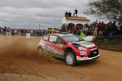 Subhan Aksa and Nicola Arena, Ford Fiesta RRC