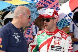 (L-R) Tom Coronel, Cevrolet RML Cruze TC1 and Roal Motorsport, Tiago Monteiro, Honda Civic WTCC, Castrol Honda WTC Team