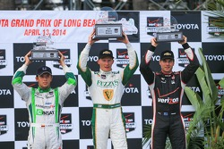 Carlos Munoz, Andretti Autosport Honda, Mike Conway, Ed Carpenter Racing Chevrolet, Will Power, Penske Racing Chevrolet