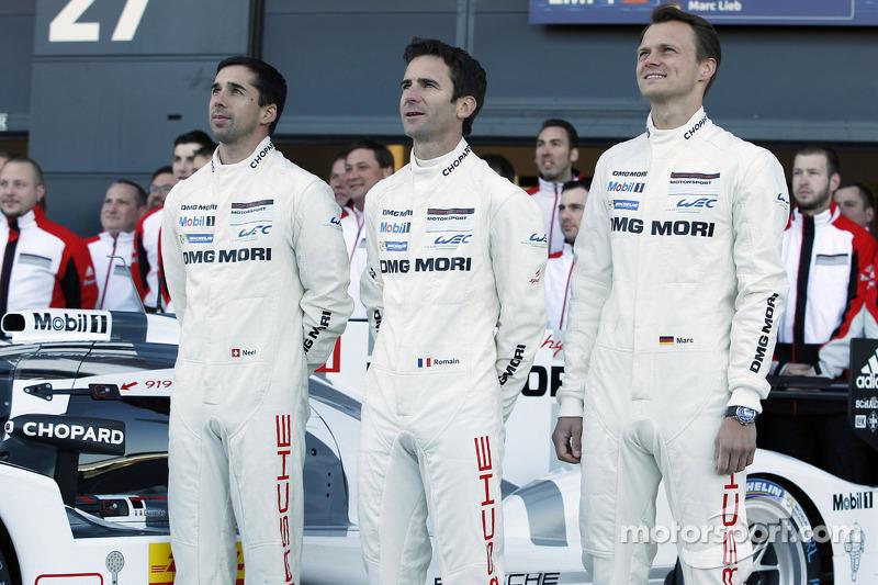 Neel Jani, Romain Dumas, Marc Lieb
