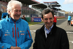 Hugues de Chaunac, ORECA and Pierre Fillon, president of the ACO