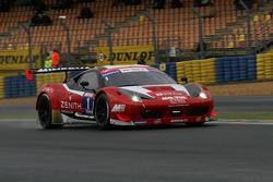 #1 Team Sofrev ASP Ferrari 458 Italia: Philippe Giauque, Morgan Moullin-Traffort