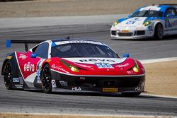 #555 AIM Autosport Ferrari 458 Italia: Bill Sweedler, Townsend Bell