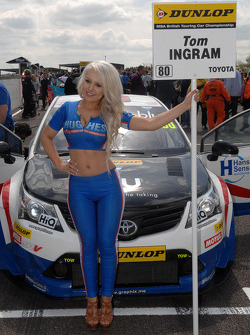 Speedworks Motorsport Grid girl
