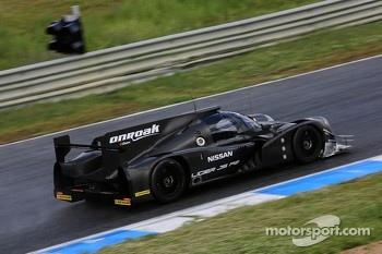 Ligier JS P2 shakedown