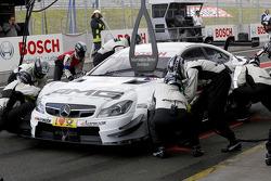 Pitstop, Paul Di Resta, Mercedes AMG DTM-Team HWA DTM Mercedes AMG C-CoupÈ