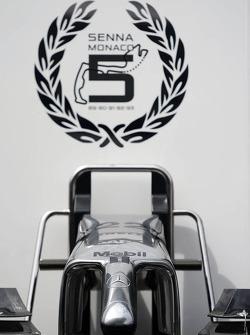 McLaren celebrate five Monaco GP victories for Ayrton Senna