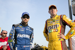 Ricky Stenhouse Jr. and Kyle Busch