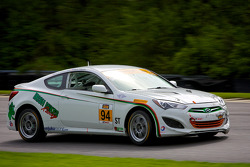 #94 Irish Mike's Racing Hyundai Genesis: David Thilenius, Ramin Abdolvahabi