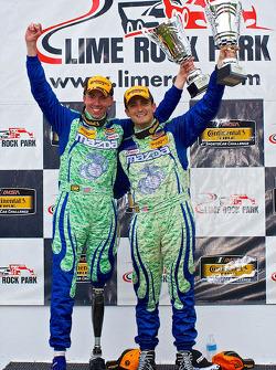 CTSCC ST Class: #27 Freedom Autosport Mazda MX-5: winners Liam Dwyer, Tom Long