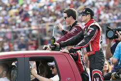 Kurt Busch and Alex Bowman