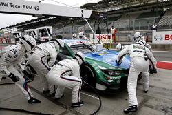 Pitstop Augusto Farfus, BMW Team RBM BMW M34 DTM