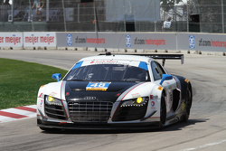 #48 Paul Miller Racing Audi R8: Bryce Miller, Christopher Haase