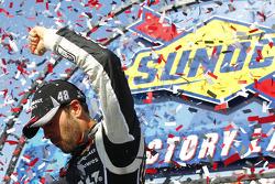 NASCAR-CUP: Race winner Jimmie Johnson, Hendrick Motorsports Chevrolet