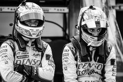 Nicolas Lapierre and Sébastien Buemi