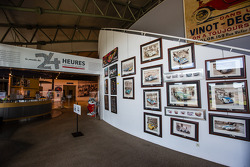 24 Hours of Le Mans Museum welcome area