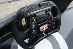 Tony Kanaan's steering wheel