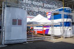 SMP Racing paddock area