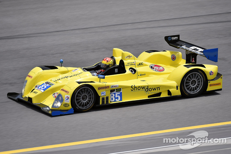 #85 JDC/Miller Motorsports ORECA FLM09 Chevrolet: Chris Miller, Stephen Simpson