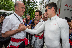 Dr. Wolfgang Ullrich and Loic Duval
