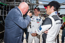 Jean-Claude Biver from LVMH with Joe Foster and Patrick Dempsey